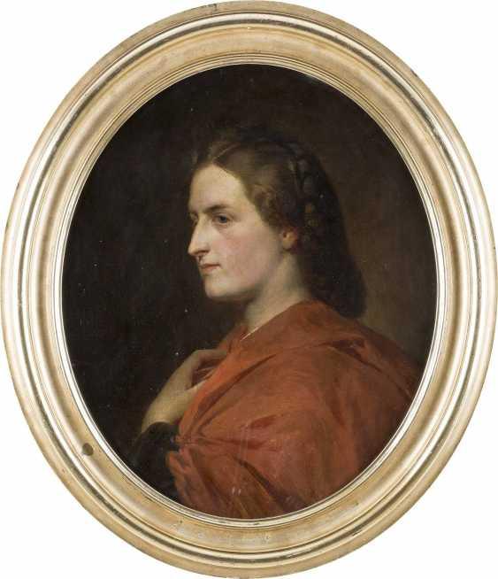 CARL OTTO (ATTR.) 1830 Osterode - 1902 Schleißheim Damenporträt - photo 2