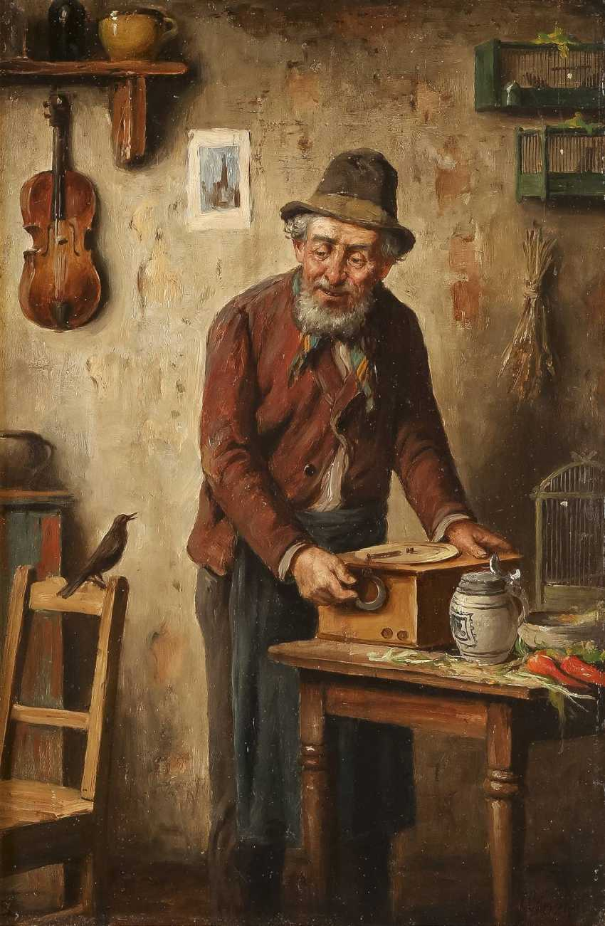 CARL OSTERSETZER 1865 - 1914 In der Werkstatt - photo 1