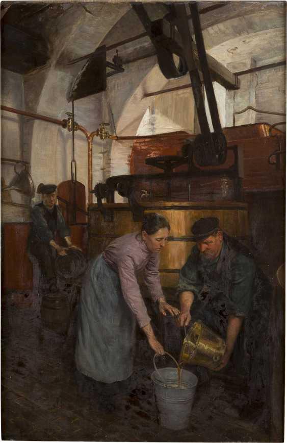 KARL BEHM 1858 Güstrow - 1905 München IM SUDHAUS - photo 1