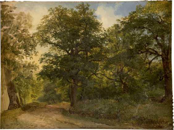 FRIEDRICH GAUERMANN (ATTR.) 1807 Miesenbach (Österreich) - 1862 Wien Waldstudie - photo 1