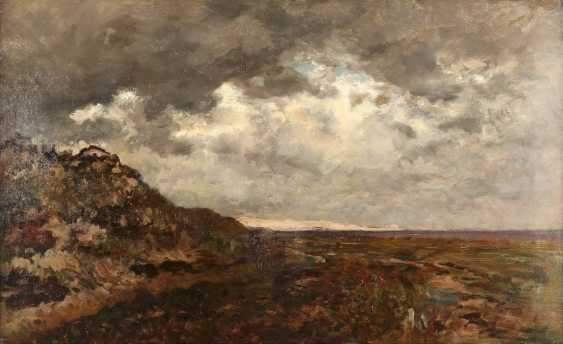 ROBERT SCHLEICH 1845 München - 1934 ebenda Weite Landschaft mit aufziehendem Gewitter - photo 1
