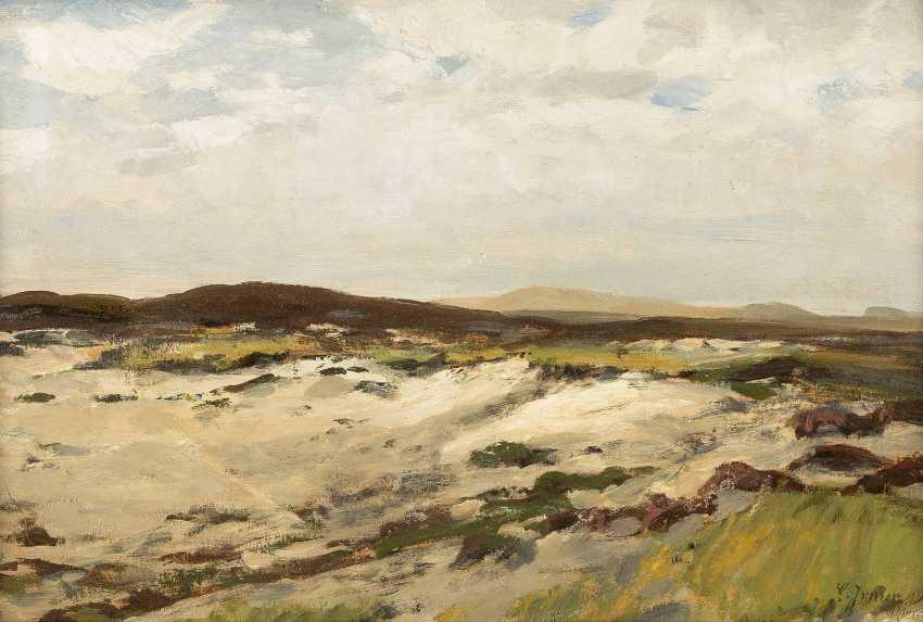 CARL IRMER 1834 Babitz - 1900 Düsseldorf Kleine Landschaftsstudie - photo 1