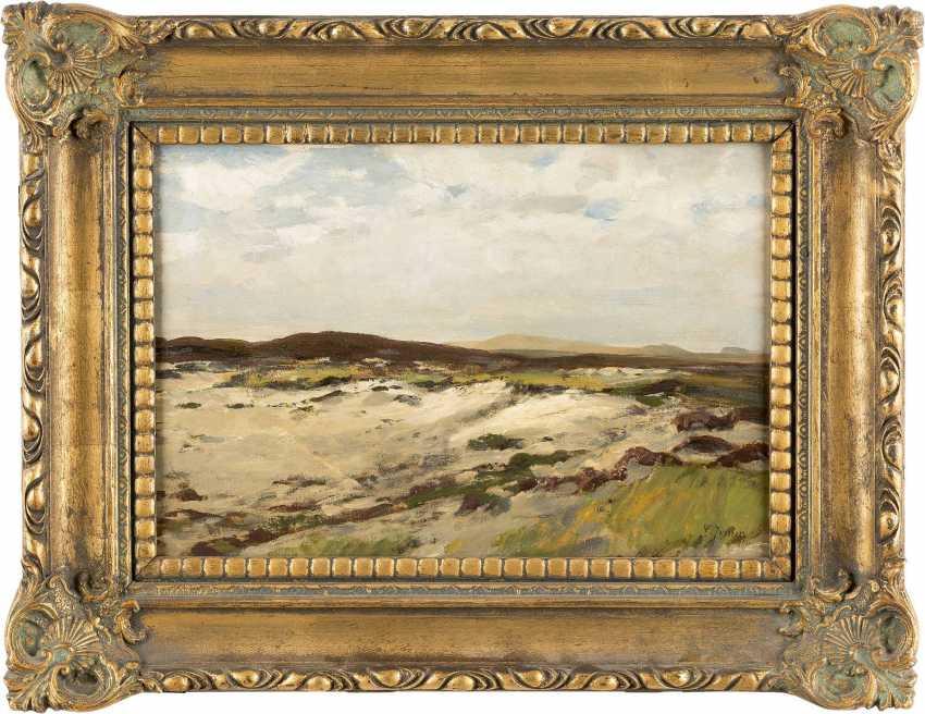 CARL IRMER 1834 Babitz - 1900 Düsseldorf Kleine Landschaftsstudie - photo 2