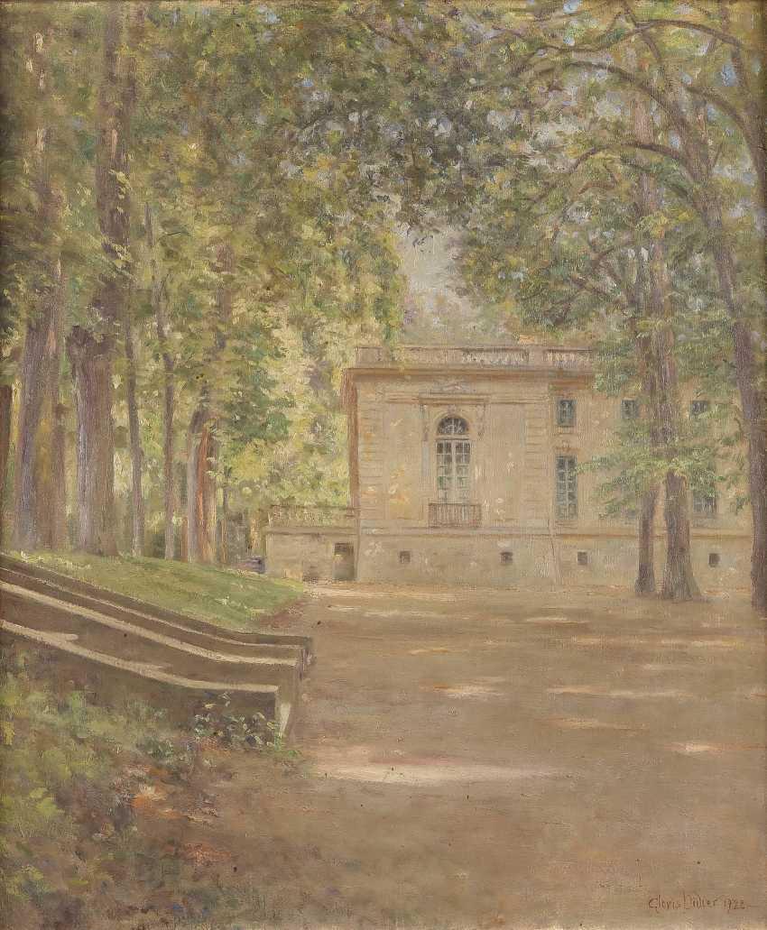 CLOVIS-FRANÇOIS-AUGUSTE DIDIER 1858 Neuilly-sur-Seine Park von Versailles - photo 1