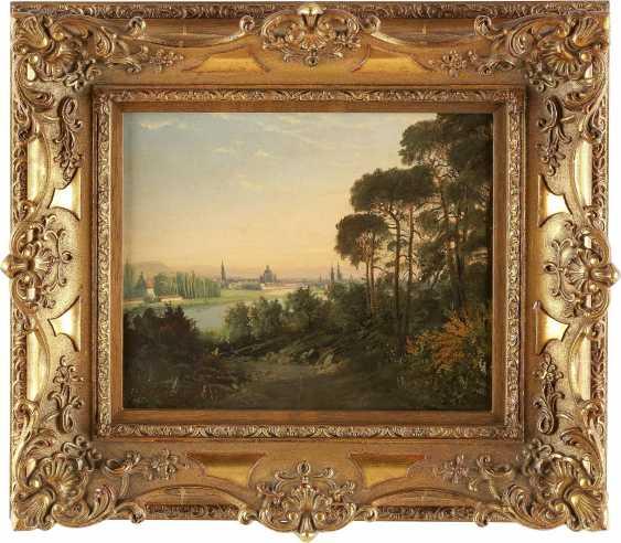 OSWALD ACHENBACH (UMKREIS) 1827 Düsseldorf - 1905 ebenda Italienische Landschaft - photo 2