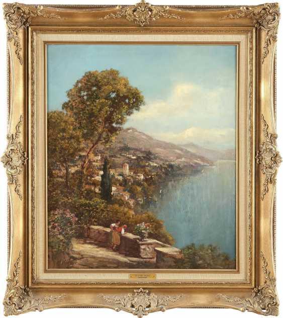 A. VERLEUR Tätig 1. Hälfte 20. Jahrhundert Ansicht von Capri - photo 2