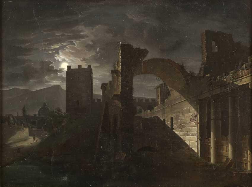 GIOVANNI BATTISTA DELL'ACQUA 1790 Mailand - 1845 Mitternacht - photo 1