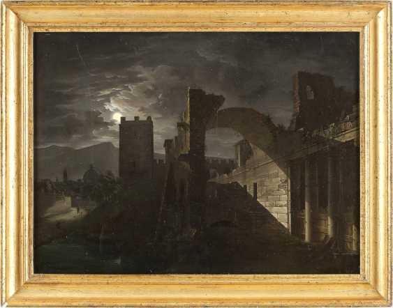 GIOVANNI BATTISTA DELL'ACQUA 1790 Mailand - 1845 Mitternacht - photo 2