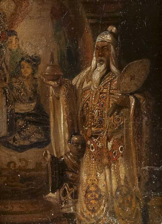 UNBEKANNTER SYMBOLIST Tätig 2. Hälfte 19. Jahrhundert Ein Unsterblicher - photo 1