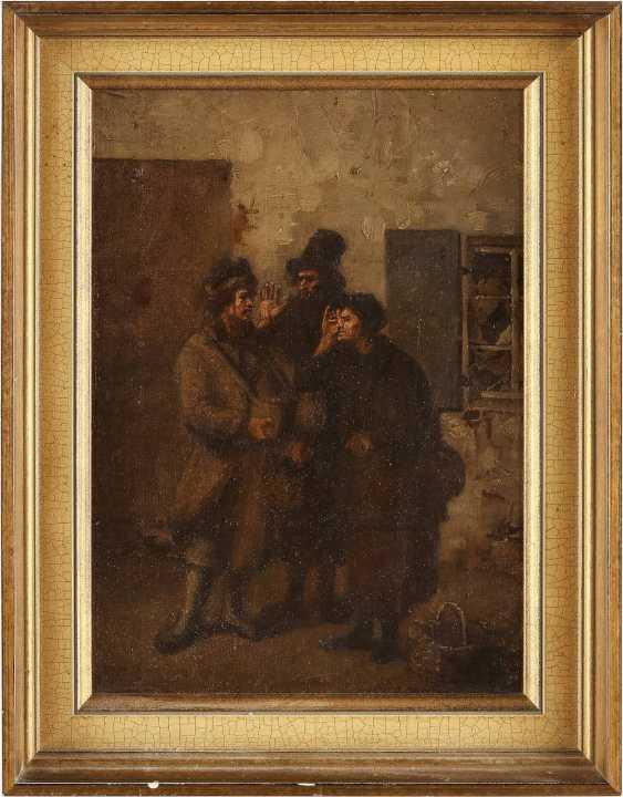 POLNISCHER GENREMALER Tätig 2. Hälfte 19. Jahrhundert Beim Feilschen - photo 2
