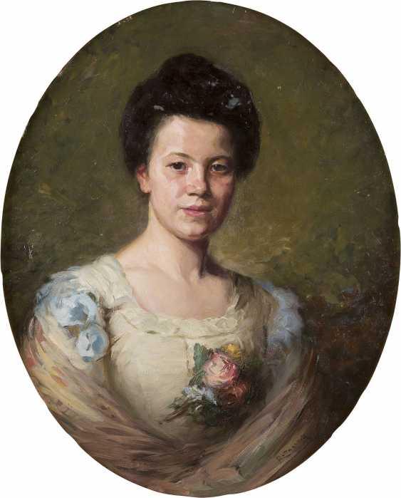 MOZART ROTTMANN 1874 Ungvar (Ukraine) Damenporträt - photo 1