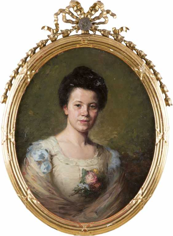 MOZART ROTTMANN 1874 Ungvar (Ukraine) Damenporträt - photo 2