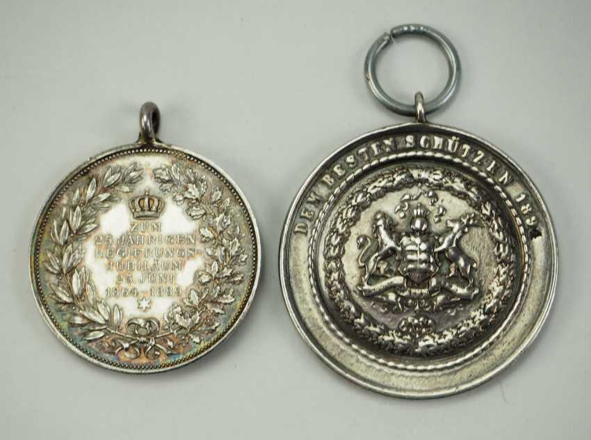Württemberg: Lot of 2 medals. - photo 2