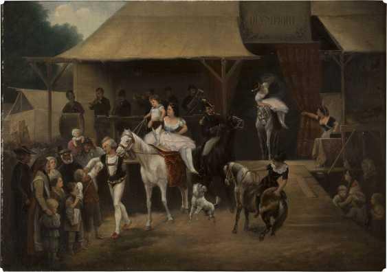 JOSEF JONAS 1805 - 1863 Einzug der Artisten - photo 1