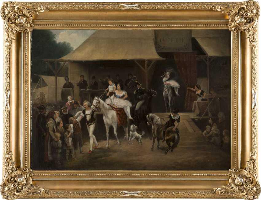 JOSEF JONAS 1805 - 1863 Einzug der Artisten - photo 2