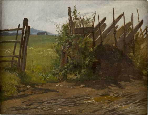 ROBERT EBERLE (UMKREIS) 1815 Meersburg - 1860 Eberfing Blick auf Quelle der Münchner Wasserleitung - photo 1