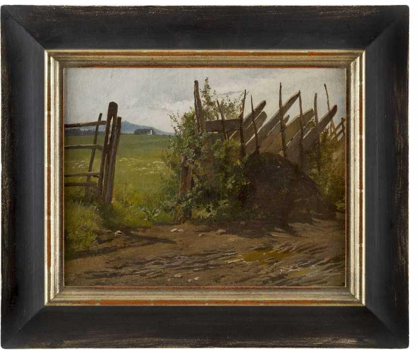 ROBERT EBERLE (UMKREIS) 1815 Meersburg - 1860 Eberfing Blick auf Quelle der Münchner Wasserleitung - photo 2