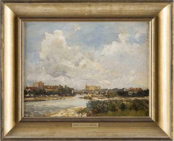 EUGEN BIRZER (ATTR.) 1847 Waldsassen - 1905 München Stadt am Fluss (Isar bei München?) - photo 2