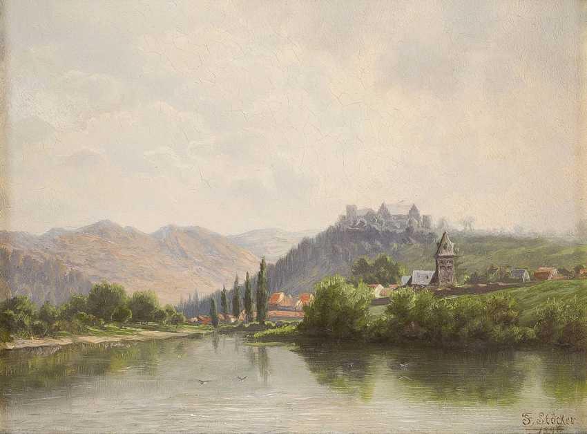 F. STÖCKER Tätig um 1890 Ebernburg bei Bad Münster am Stein - photo 1
