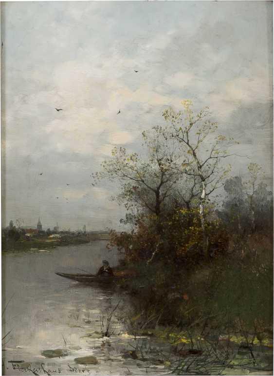 HEINZ FLOCKENHAUS 1856 Remscheid - 1919 Düsseldorf Niederrhein im Herbst - photo 1