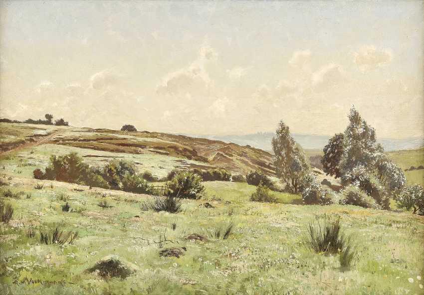 HANS RICHARD VON VOLKMANN 1860 Halle - 1927 Ebenda Sommerlandschaft - photo 1