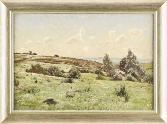 HANS RICHARD VON VOLKMANN 1860 Halle - 1927 Ebenda Sommerlandschaft - photo 2