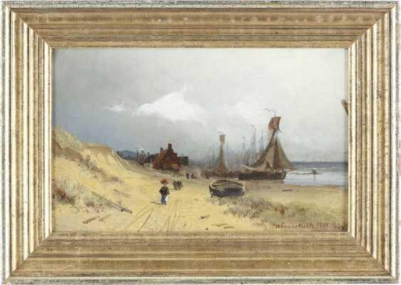 VIGGO FAUERHOLDT 1832 Kopenhagen - 1883 Düsseldorf Dänische Küste - photo 2