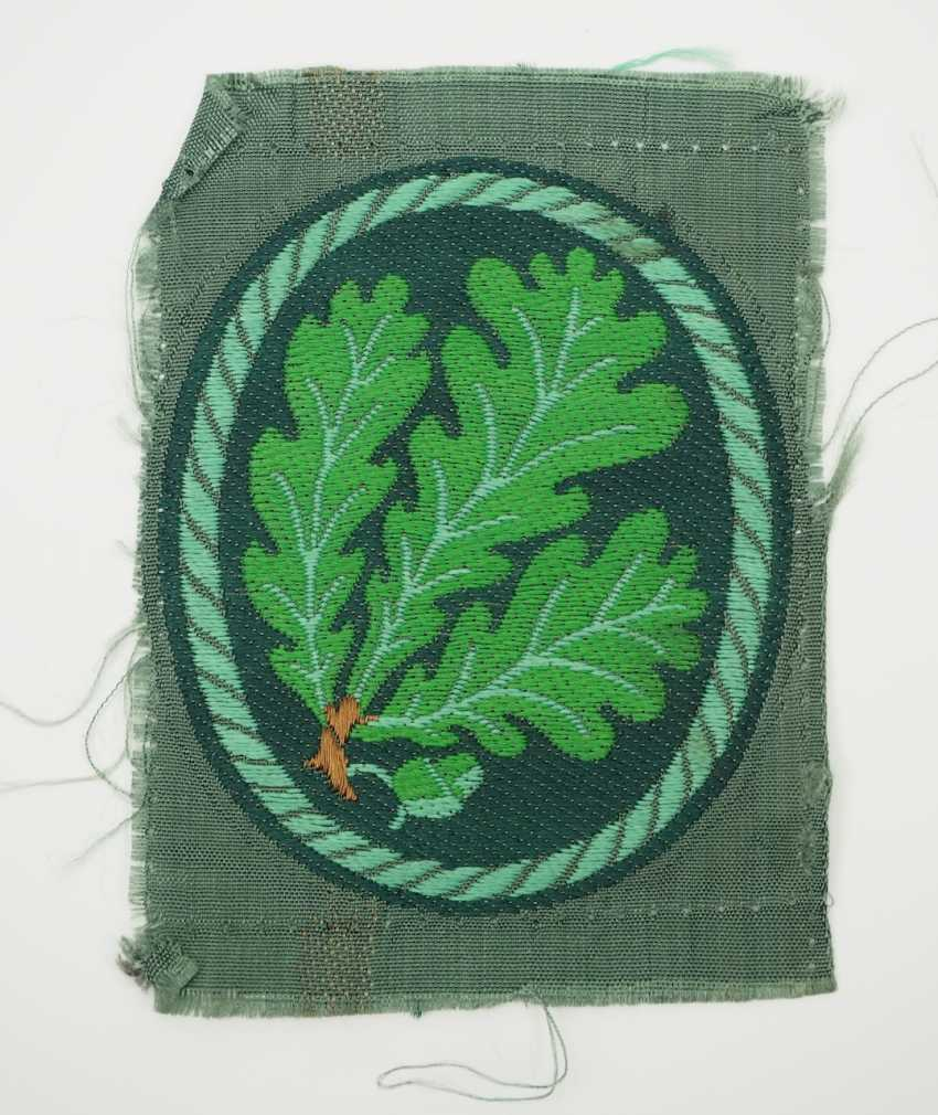 Wehrmacht: sleeve badge for hunter troops. - photo 1