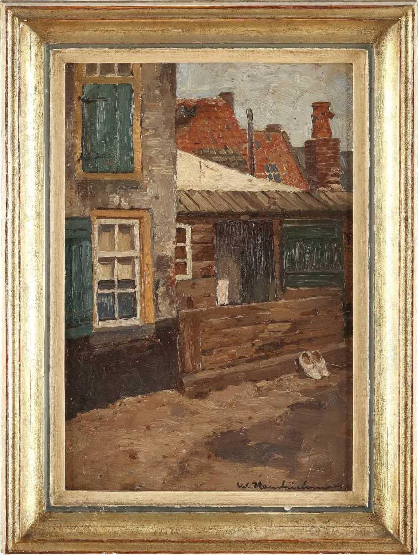 WILHELM HAMBÜCHEN 1869 Düsseldorf - 1939 ebenda Wohnhaus mit kleinem Schuppen - photo 2