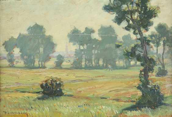 PAUL EHRENBERG 1876 Dresden - 1949 Hof (Bayern) Nebliger Morgen - photo 1