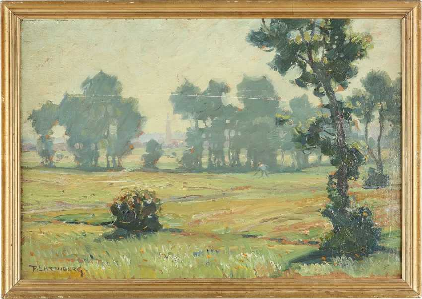 PAUL EHRENBERG 1876 Dresden - 1949 Hof (Bayern) Nebliger Morgen - photo 2