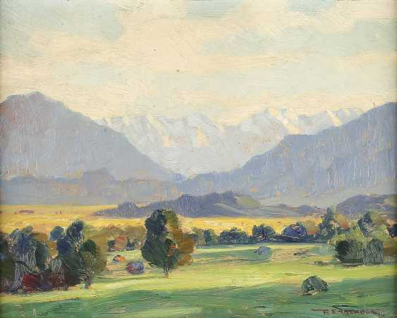 PAUL EHRENBERG 1876 Dresden - 1949 Hof (Bayern) Wettersteingebirge - photo 1