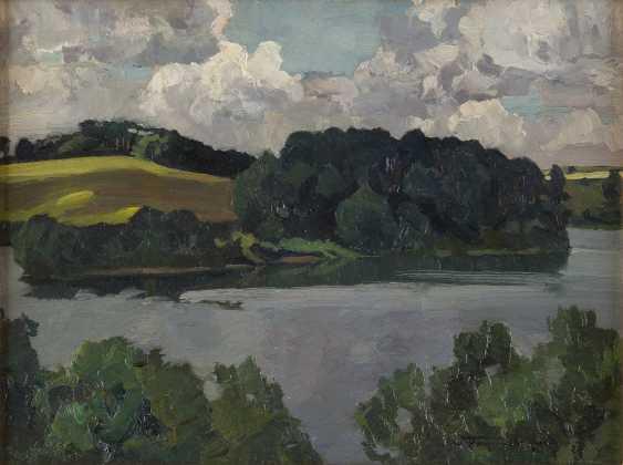 CARL KAYSER - EICHBERG 1873 Eichberg - 1964 Potsdam Gewässer im Sommer - photo 1