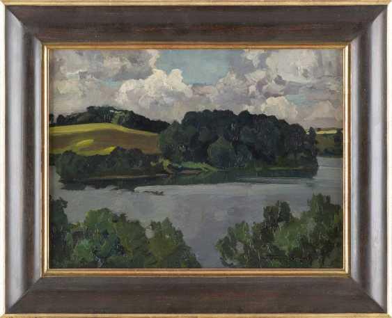 CARL KAYSER - EICHBERG 1873 Eichberg - 1964 Potsdam Gewässer im Sommer - photo 2