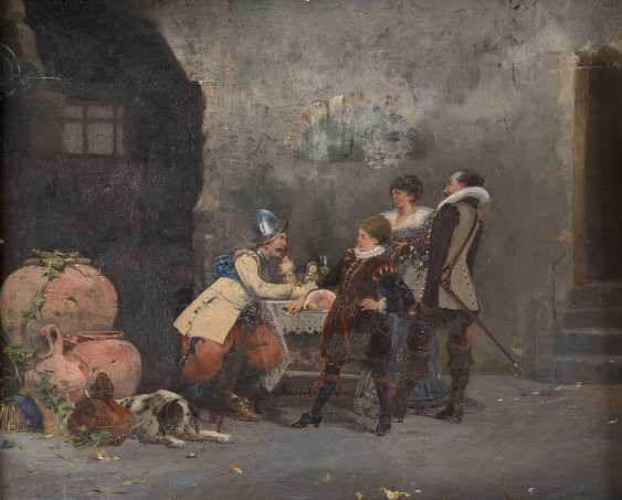 ARMAND PIERE Tätig um 1900 (Paris) In der Schankstube - photo 1