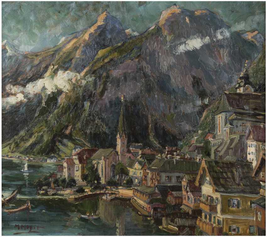MARIE HAGER 1872 Dargun - 1947 Hallstätter See - photo 1