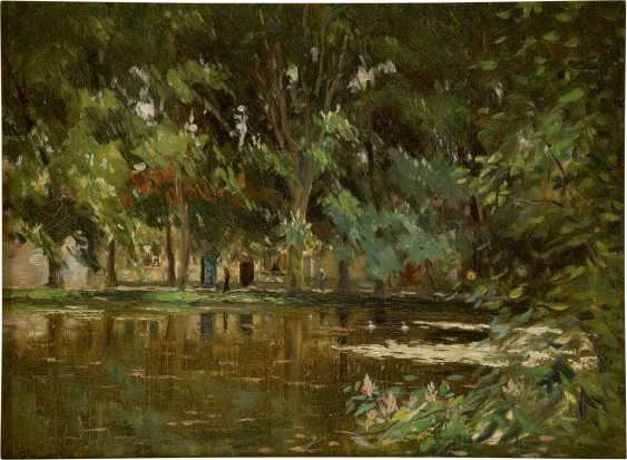 PIETER STOBBAERTS 1865 - 1948 Parkteich - photo 1
