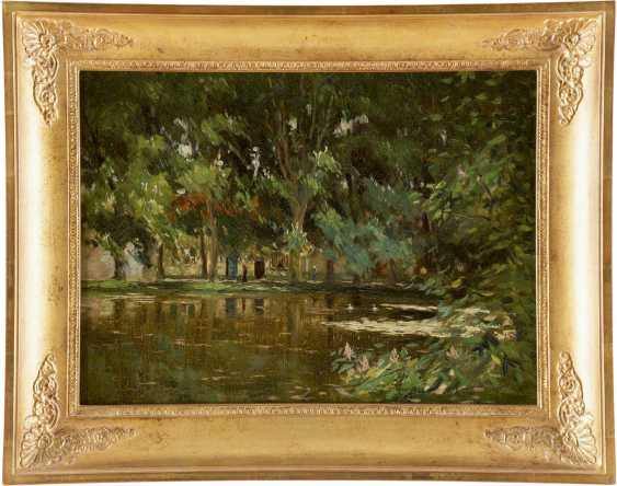 PIETER STOBBAERTS 1865 - 1948 Parkteich - photo 2