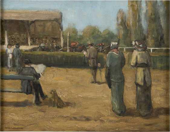 WILLEM VAARZON MOREL (ATTR.) 1868 - 1955 An der Pferderennbahn - photo 1
