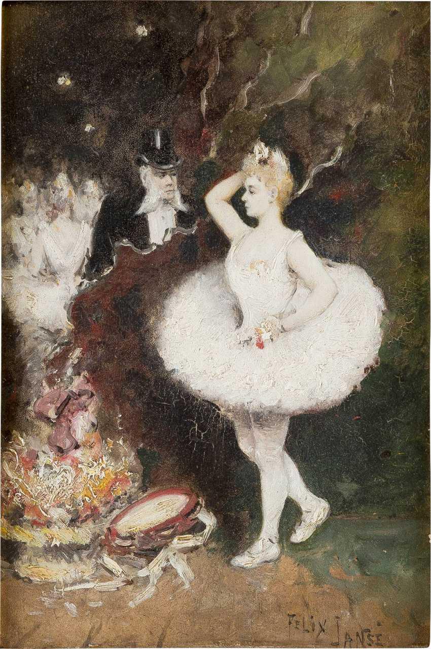 FELIX JANSÉ Tätig um 1900 Primaballerina - photo 1