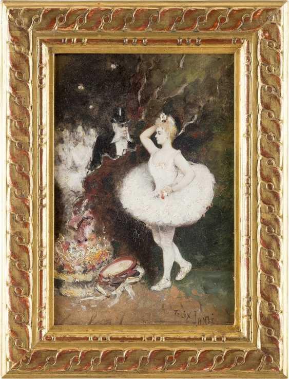 FELIX JANSÉ Tätig um 1900 Primaballerina - photo 2