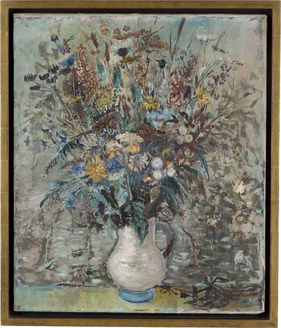 DEUTSCHER MALER Tätig 1. Viertel 20. Jahrhundert Blumenstilleben - photo 2