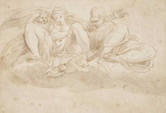 ITALIENISCHER MEISTER Tätig um 1700 MYTHOLOGISCHE SZENE - photo 1