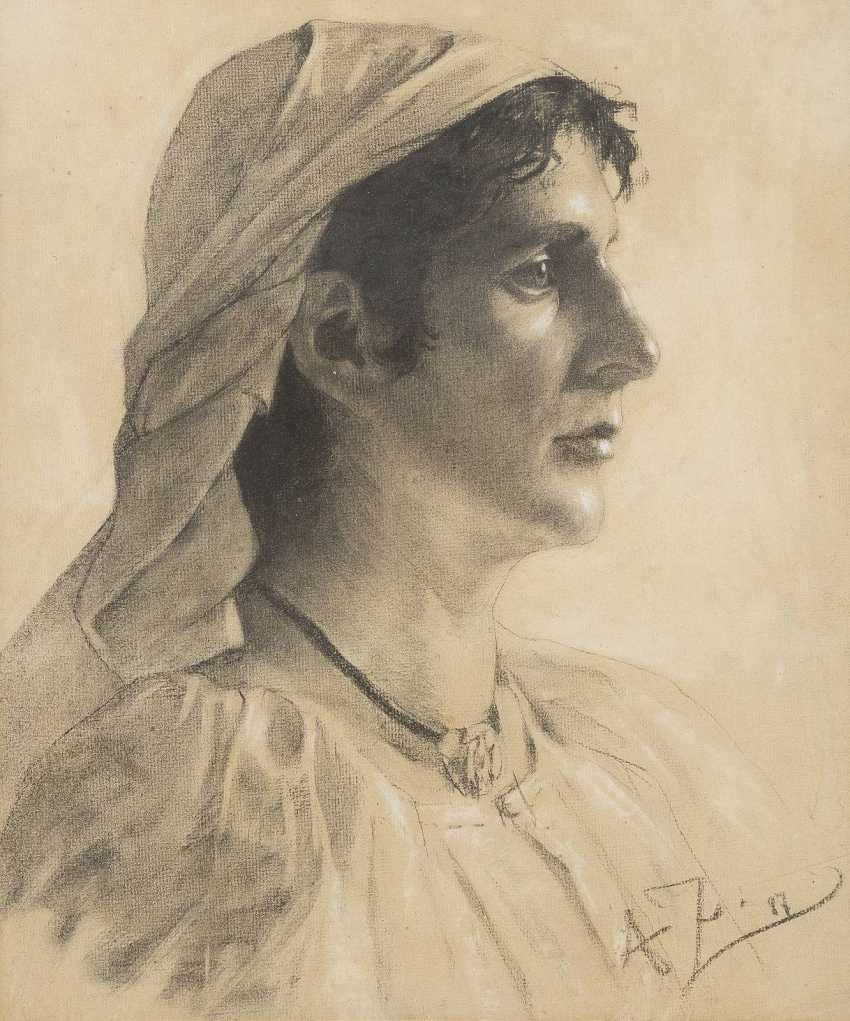 MONOGRAMMIST 'A.Z.' Tätig Ende 19. Jahrhundert - photo 1