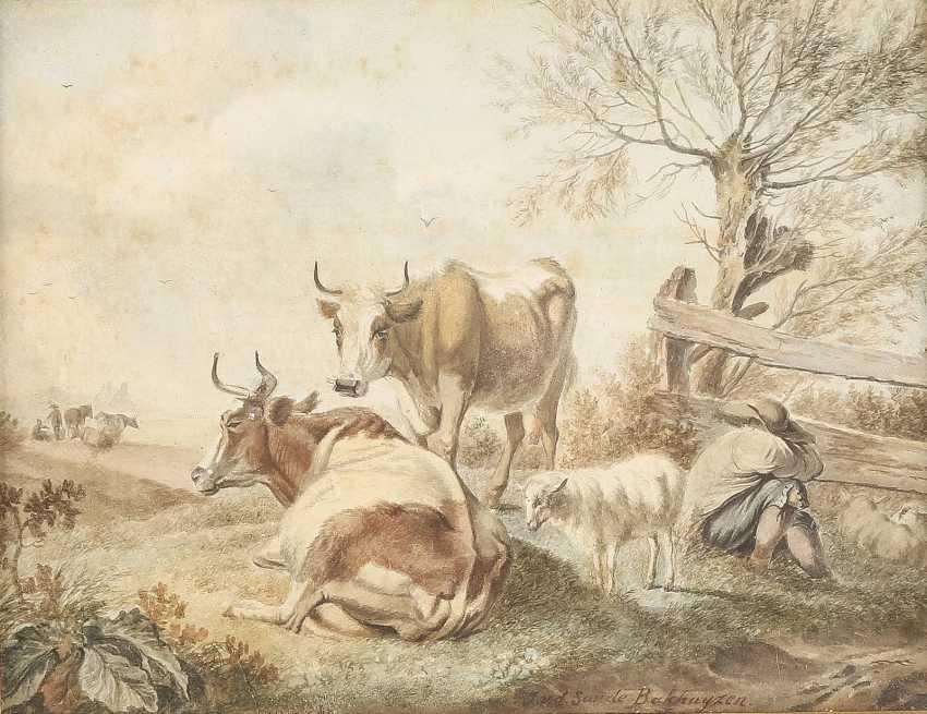 JULIUS JACOBUS VAN DE SANDE BAKHUYZEN 1835 Den Haag - 1925 ebenda - photo 1