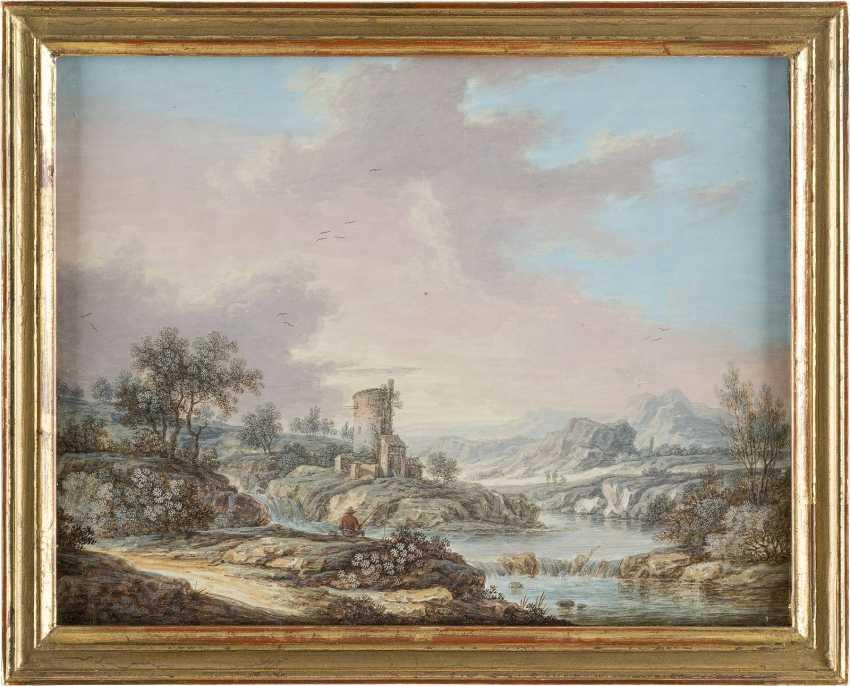 CHRISTOPH LUDWIG AGRICOLA (ATTR.) 1667 Regensburg - 1719 ebenda - photo 4