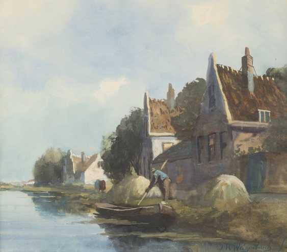 JOHANNES HENDRIK WEISSENBRUCH 1824 Den Haag - 1903 ebenda - photo 1