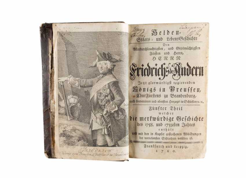 CHRISTIAN FRIEDRICH HEMPEL: GESCHICHTE FRIEDRICHS DES GROSSEN (TEIL 5) Deutsch, Frankfurt und Leipzig, 1760 - photo 2