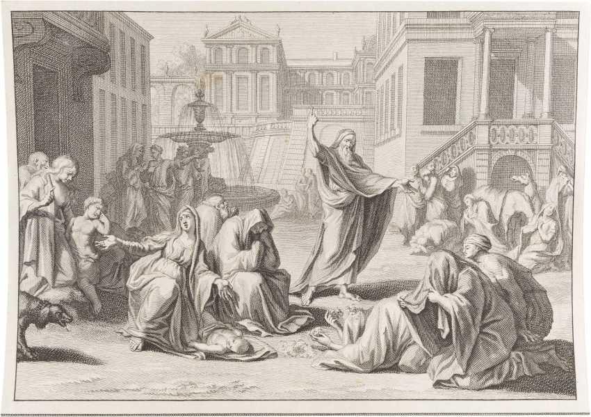 KONVOLUT AUS 136 GRAFIKEN MIT BIBLISCHEN MOTIVEN 18./19. Jahrhundert - photo 1