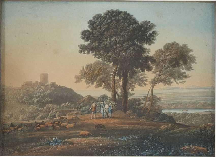 UNBEKANNTER GRAFIKER Tätig im 19. Jahrhundert - photo 1